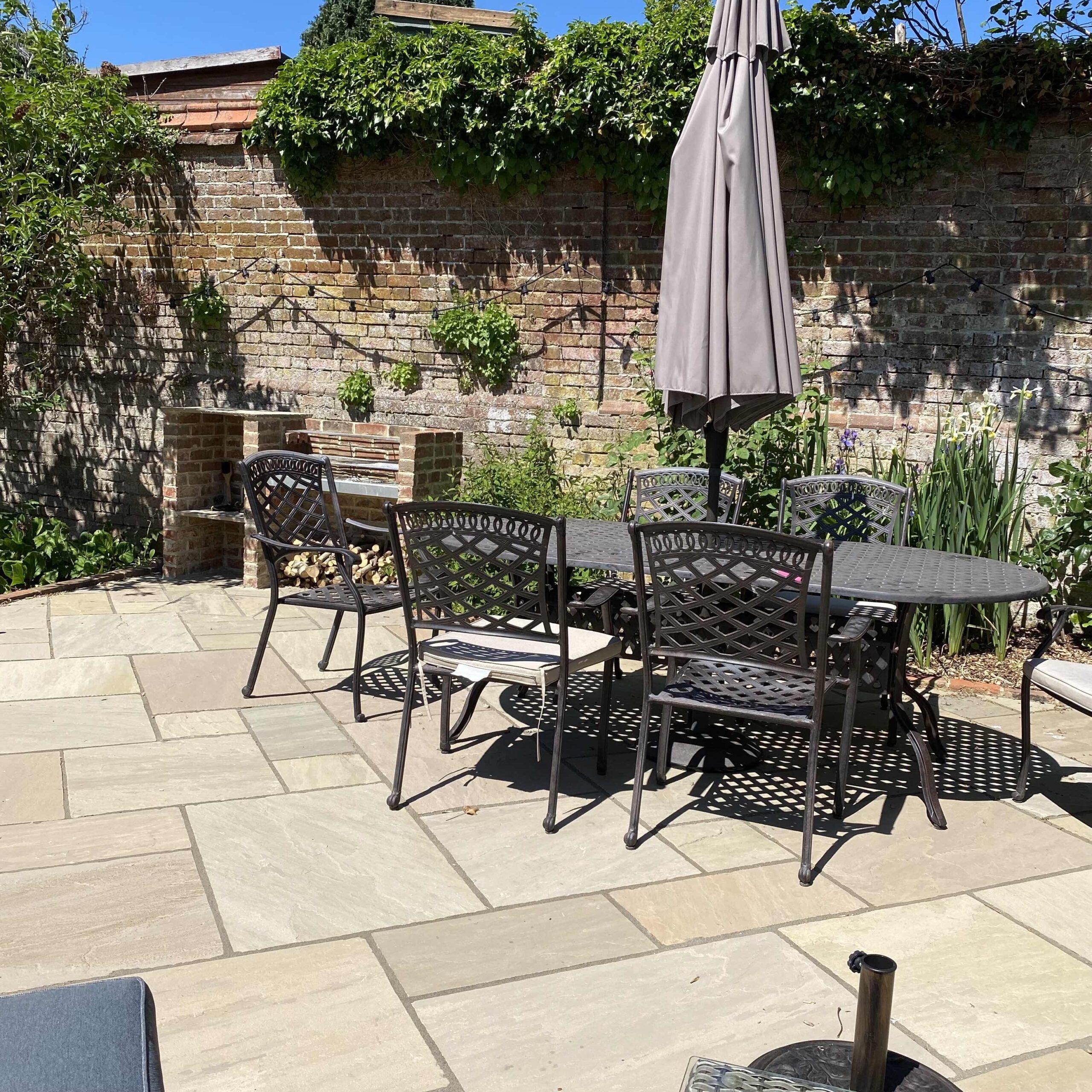 Redhill indian sandstone patio
