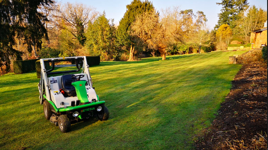 Large grounds mowing