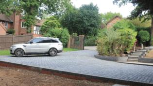 granite sett driveway