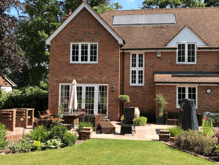Large patio design