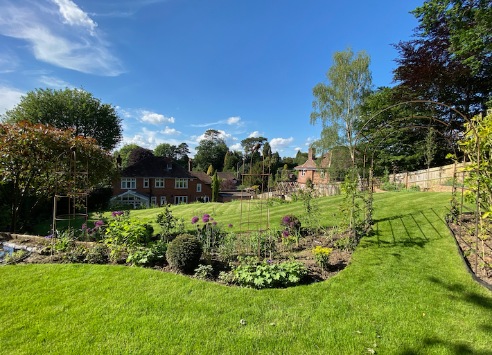Lawn mowing Dorking