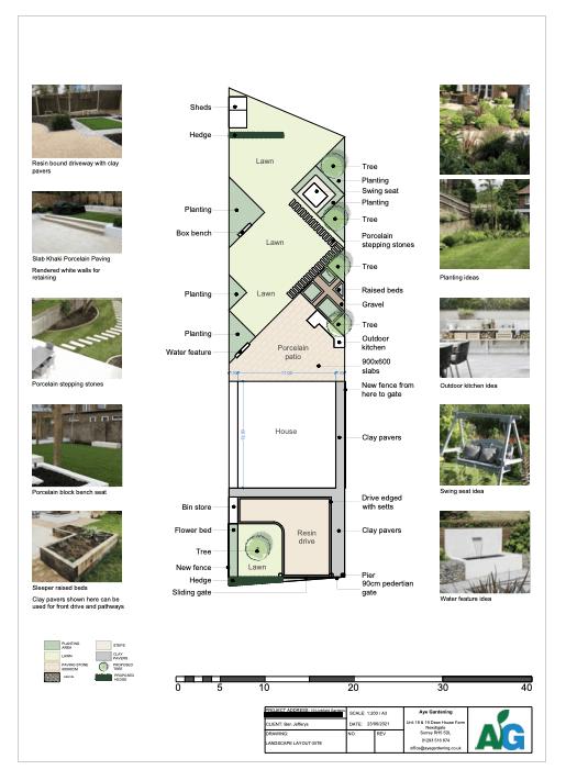 2D garden design