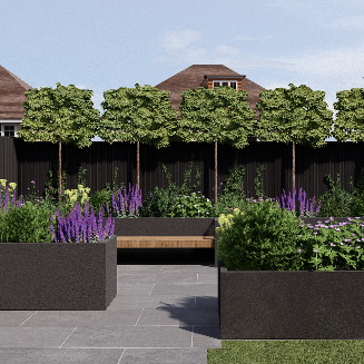 3D garden design Reigate