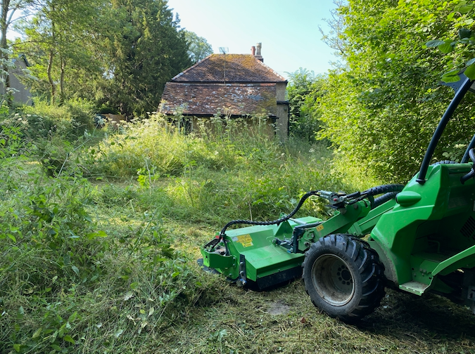 Large grounds clearance Dorking