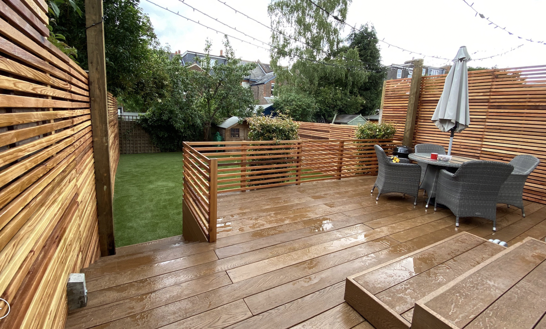 Millboard decking installation Reigate